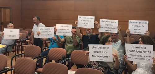El Comité de Empresa de Limdeco pide copia del informe de la intervención municipal sobre la gestión de la empresa