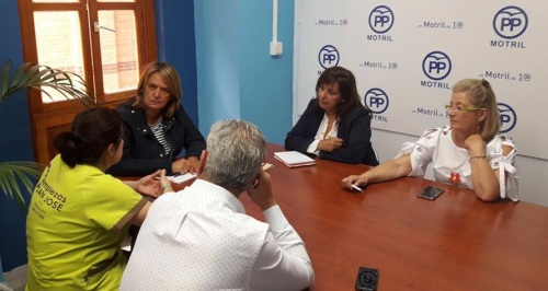 El PP se reúne con 'AUPA' y destaca su 'gran labor social'
