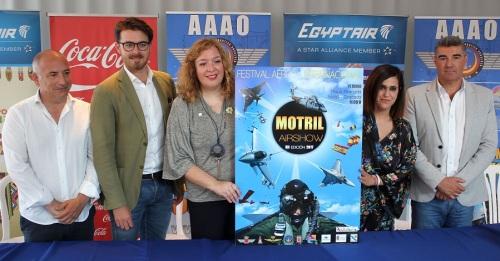El XII Festival Aéreo Intl. se presenta con el reto de reunir en las playas de Motril a unos 60.000 espectadores