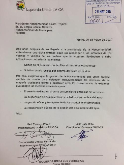 Escrito presentado Mancomunidad_29 mayo