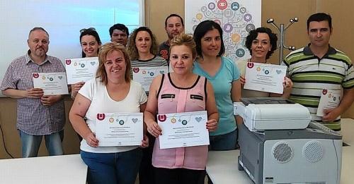 Formación y Empleo concluye el primero de los cuatro cursos de Informática y NNTT de Andalucía Compromiso Digital