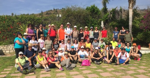 Gran éxito de participación en el I Programa de senderismo