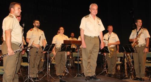 Gran concierto de la Unidad de Música de la Academia de Infantería