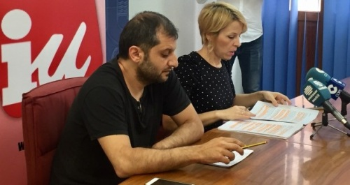 IU critica se contraten profesionales afines al presidente de la Mancomunidad