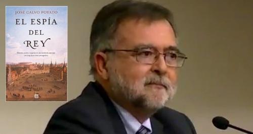 José Calvo Poyato presenta en Almuñécar su nueva novela, 'El espía del rey'