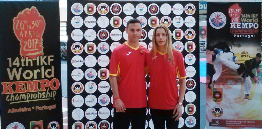 Kenpo_Carlos Barbero Díaz oro y bronce en Katas en el Campeonato del Mundo