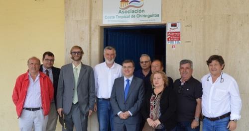 La Asociación de Chiringuitos traslada a Fernando Rey los problemas del sector