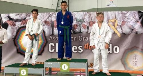 La Escuela de Judo de Almuñécar suma una docena de metales en la cuarta jornada del Circuito de Diputación