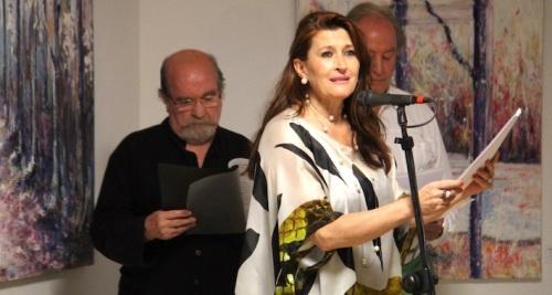 La Herradura rindió homenaje a Miguel Hernández con un recital de poesía y una muestra de pintura
