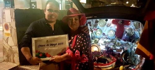 La Herradura_Cruces de Mayo_2º premio a la Cruz Itinerante de Matilde