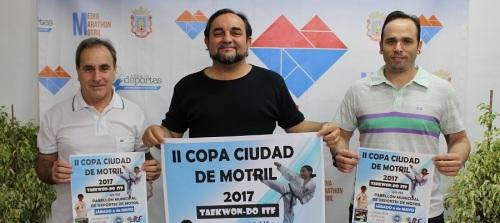 La II Copa Ciudad de Motril de Taekwon-do ITF reunirá este sábado a casi 200 participantes de clubes de toda Andalucía