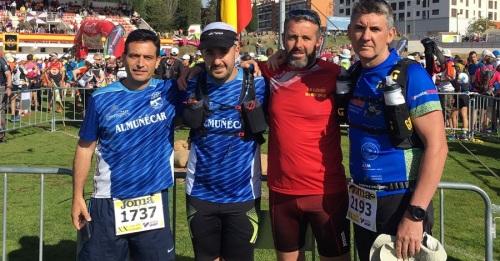 Marco Toro, el runner surfero en los 101 km de Ronda