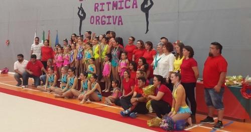 Más de 200 gimnastas se dieron cita en el I Campeonato de Gimnasia Rítmica Ciudad de Órgiva