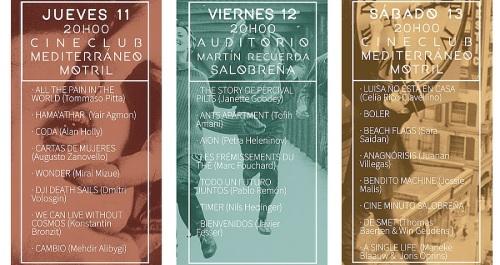 Motril y Salobreña acogen hasta el 13 de mayo un festival de cortos
