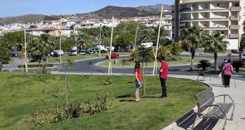 Notable mejora del entorno del campo de fútbol 'Hermanos Callejón_ de Motril