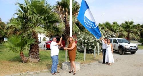 Playa Granada renueva su bandera azul