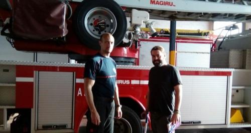 Podemos Motril se reúne con representantes del parque de bomberos