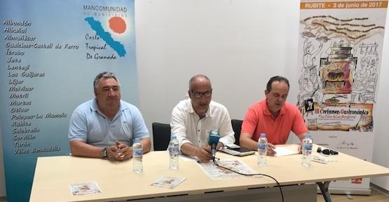 Presentado el III Certamen Gastronómico de la Casa de la Alpujarra que se celebrará en Rubite el 3 de junio