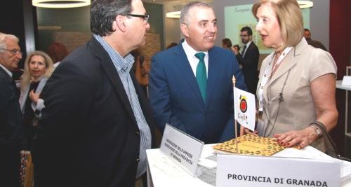 Promoción en Milán de Granada y Jaén ante turoperadores y periodistas