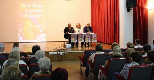 Se celebran las 'XI Jornadas Salud y Mujer_ con gran éxito de participación