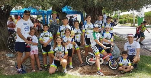 3 medallas para la Escuela de Ciclismo Sexitana en el Campeonato de Andalucía