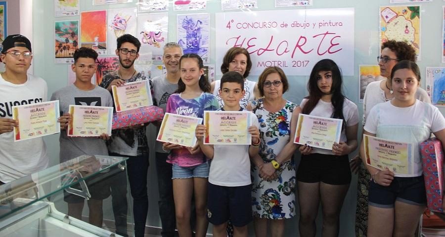 El 'IV Concurso de Dibujo y Pintura HelArte_ entrega sus premios