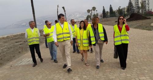 El Gobierno Central invierte 800.000€ en la mejora del paseo de Salobreña