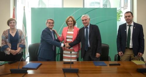 El Ifapa y Caja Rural Granada colaboran para aumentar la difusión de los programas de transferencia de conocimiento
