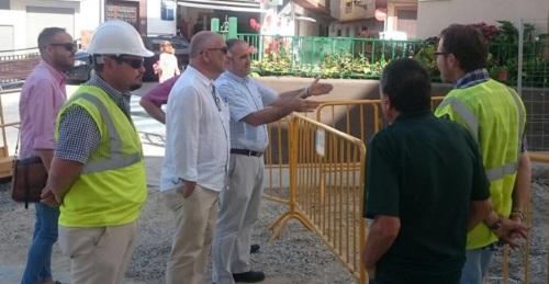 El Presidente de la Mancomunidad visita las obras en los barrios sexitanos de San Sebastián y La Paloma