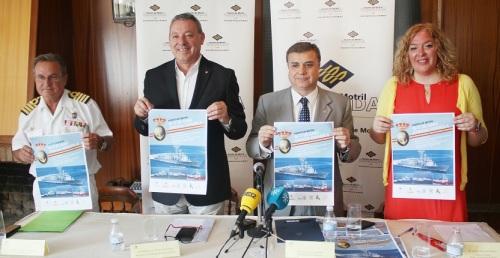 El Puerto de Motril acoge una flota de la Armada Española que podrá ser visitada por los ciudadanos