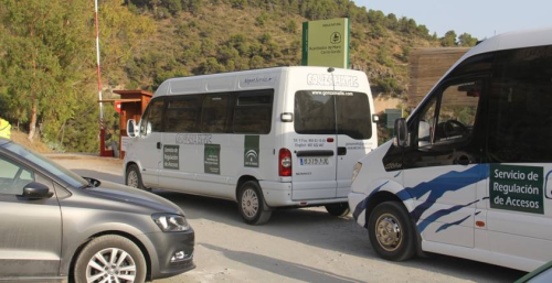 El servicio de transporte de acceso a la playa de Cantarriján desde la CN 340 ya está operativo
