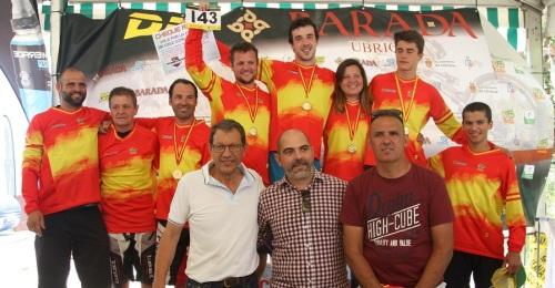 El sexitano Miguel Fernández Campeón de España de BMX, categoría Máster 30