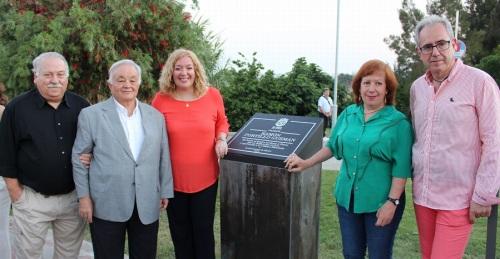 Inaugurado el parque dedicado al pintor Ramón Portillo