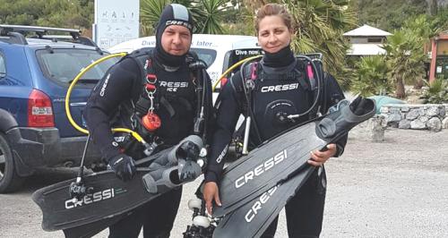 Jesús Osorio y Eva Duarte campeones de Andalucía de Fotografía Submarina