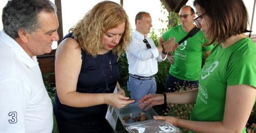 La Charca de Suárez inaugura su 'Mariposario_ con motivo del Día Mundial del Medio Ambiente