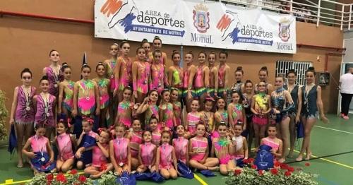 La gimnastas sexitanas triunfaron en el II Torneo 'Ciudad de Motril'
