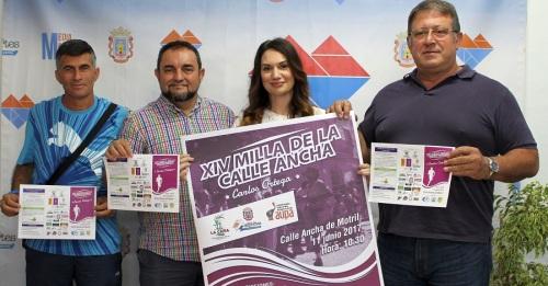 La Milla de la calle Ancha celebra su XIV edición cargada de solidaridad