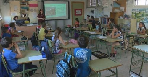 La pesca 'desembarca' en las aulas de los colegios de Motril