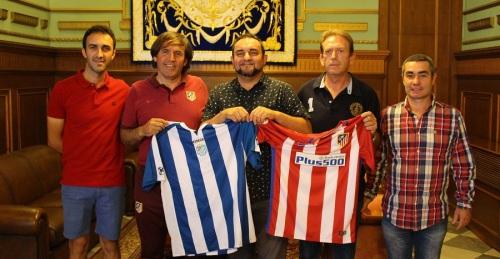 La Unión Deportiva Motril firma un convenio con el Atlético de Madrid para convertirse en referencia comarcal