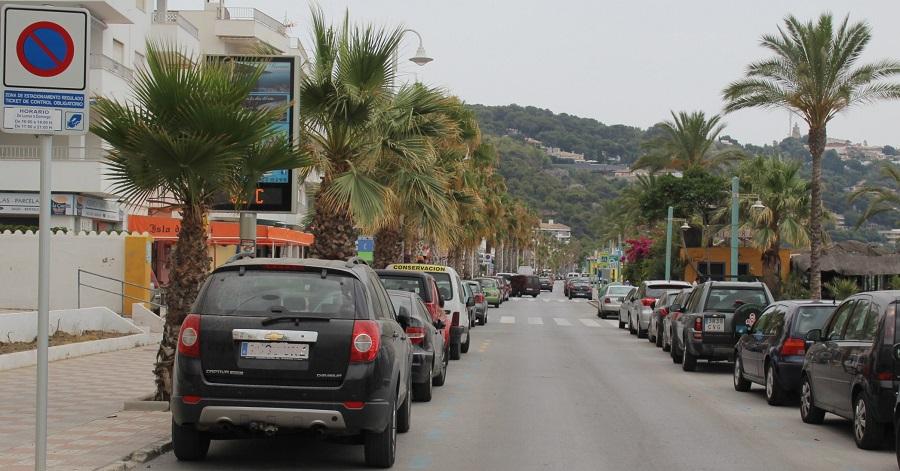 La Zona Azul en los paseos marítimos sexitanos entra en vigor este sábado