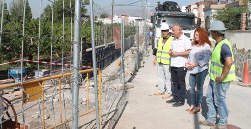 Las obras de la Calle Bonifacio Caro de Lobres avanzan a buen ritmo