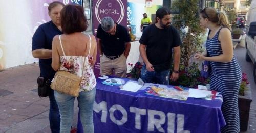 Podemos Motril recoge propuestas sobre la peatonalización del centro