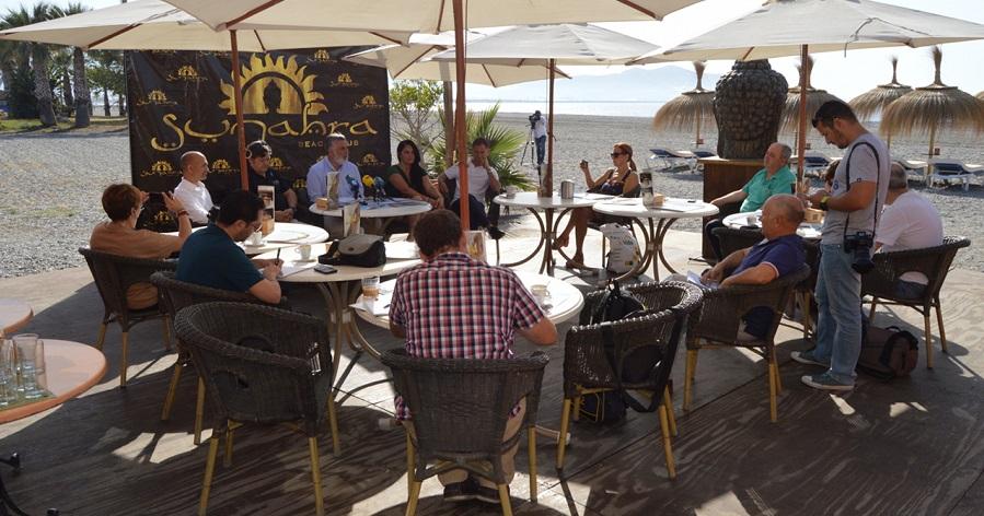 Trujillo 'Los nuevos chiringuitos están rompiendo la estacionalidad del turismo en la Costa Tropical de Granada'