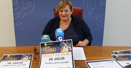 Viaje organizado por Igualdad para ver el espectáculo '¡Oh Cuba! Federico García Lorca_, en los Jardines del Generalife