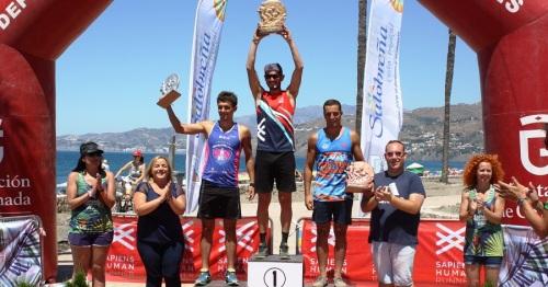 200 atletas participaron en el II Sapiens Triatlón Cross Costa Tropical