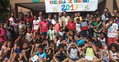 Andalucía amplía la cobertura y refuerza las comidas durante la época estival a través de 70 escuelas de verano