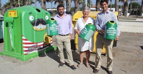 Campaña de reciclado de vidrio con más de 80 establecimientos hosteleros