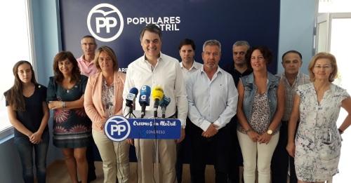 Carlos Rojas se presenta a la reelección de presidente local del Partido Popular