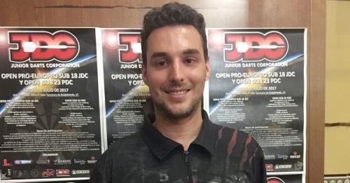 David Medina Puyol gana el 'Campeonato de España Sub 23 de Dardos'