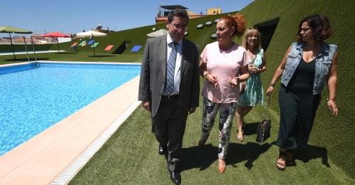Diputación invierte 28 mil euros en remodelar la Piscina Municipal de Lobres